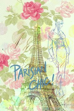 Parisian Chic Canvas Giclee Print