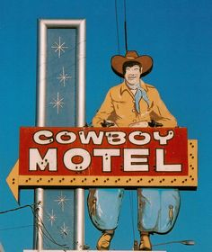 Cowboy Motel - Route 66, Amarillo, TX