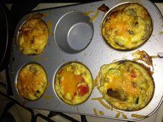 Yummy muffin tin omelets