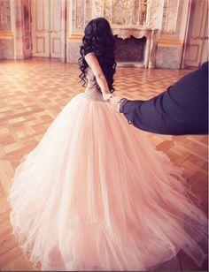 New Arrival Prom Dress,Modest Prom Dress,Stunning Crystal Princess