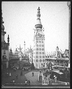 Original Luna Park Electric Tower, Coney Island (Brooklyn)