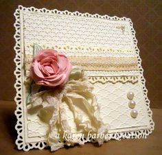 CC474 - LOOK MA, NO STAMPING!! by Karen B Barber - Cards and Paper Crafts at Splitcoaststampers