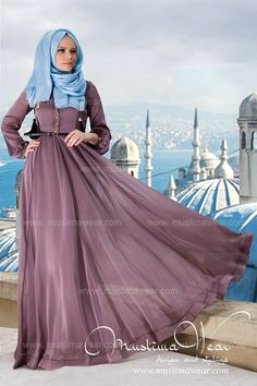 Muslima wear collection interior not showing long off hijab dress patterns 003 Hijabi Gowns, Hijab Wedding Dresses, Abaya Fashion, Modest Fashion, Fashion Dresses, Turkish Fashion, Islamic Fashion, Turkish Style, Collection Eid