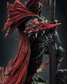 Rogue Comics, Spawn Comics, Marvel Dc Comics, Fantasy Armor, Dark Fantasy Art, Spawn Characters, Spawn 1, Demon Drawings, Comic Villains