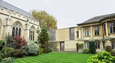 Stanton Williams' new Arts Centre for Lincoln College, one of the colleges of Oxford University, has received planning permission. Stanton Williams, Modern Agriculture, College Planning, Planning Permission, Concept Architecture, Lincoln, Modern Design, How To Plan, Mansions