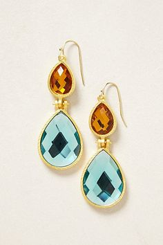 Caleta Drops #anthropologie  Reminds me of the sun and the sea or the desert and the sky