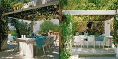Across The Universe: Deco. Ibiza, Across The Universe, Pergola, Outdoor Structures, Table Decorations, Plants, Furniture, Nova, Home Decor