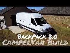 The 🚙  Vanlife Build Begins: Our DIY Sprinter Campervan Build - YouTube