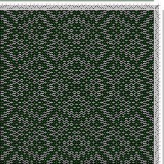 Hand Weaving Draft: xc00387, Crackle Design Project, Ralph Griswold, 4S, 4T - Handweaving.net Hand Weaving and Draft Archive