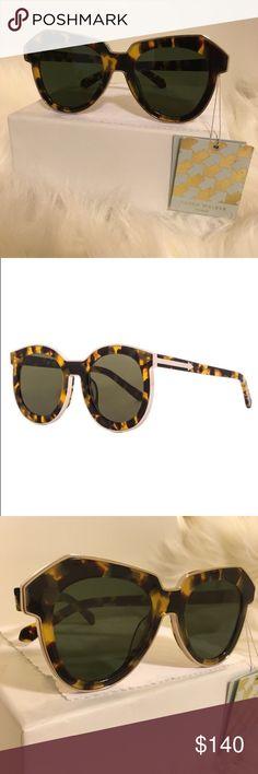 Karen Walker Tortoise Shell Sunglasses Authentic Karen Walker.  In perfect condition.  Unused/Unworn/No Scratches.  New with Tags. Karen Walker Accessories Sunglasses