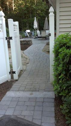 Techo Bloc Paver Walkway