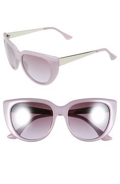 Isaac Mizrahi New York 53mm Retro Sunglasses available at #Nordstrom