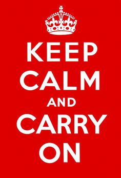 """The story of the origin of the """"Keep Calm"""" picture. Never knew this! Keep Calm and Carry On Poster (Original Red)"""