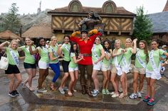 Miss America Contestants Take Center Stage at Walt Disney World - All 53 contestants, including Miss District of Columbia, Miss Puerto Rico and Miss Virgin Islands, came together to visit Magic Kingdom for some fun, The girls were swept off their feet by Gaston in New Fantasyland,...