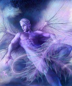 angelic male