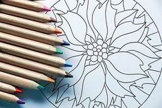 40 illustrated mandala drawing ideas and inspiration. Learn how you can draw mandalas step by step. This tutorial is perfect for all art enthusiasts. Mandala Art, Mandalas Painting, Mandalas Drawing, Mandala Motif, Sky Painting, Art Journal Pages, Art Journals, Adult Coloring Pages, Coloring Books
