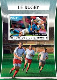 DJB16317b Rugby Rugby, Stamps, Coding, Baseball Cards, News, Sports, Seals, Hs Sports, Sport