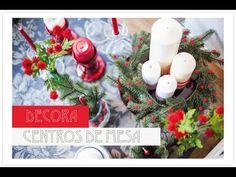 Mi receta favorita de la Navidad y cómo decorar centros de mesa!
