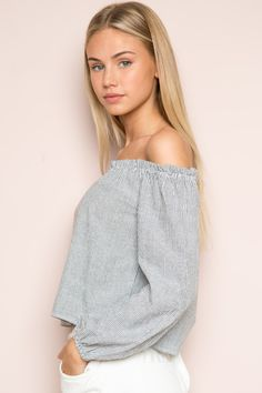 Brandy ♥ Melville | Theia Top - Long Sleeves - Tops - Clothing