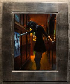 Casey Baugh Portrays Vivid Night Scenes in New Oil Paintings | Hi-Fructose…