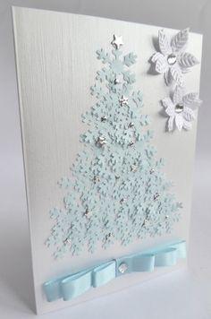 Cute Christmas Ideas, Stampin Up Christmas, Homemade Christmas Gifts, Christmas Cards To Make, Christmas Tag, Handmade Christmas, Cool Cards, Diy Cards, Karten Diy