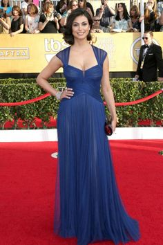 Morena Baccarin in Monique Lhuillier at the 2014 SAG Awards
