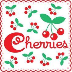 all sorts cherry theme Cherry Hill, Cherry Tree, Cherry Cherry, Cherry Delight, Motif Vintage, Cherries Jubilee, Cherry Kitchen, Cherry Recipes, Vintage Kitchen Decor