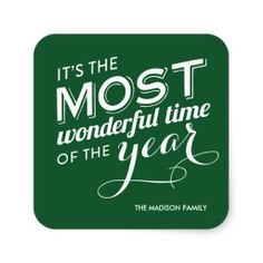 TIME OF THE YEAR | HOLIDAY STICKERS Unusual Christmas Gifts, Christmas Gifts For Boyfriend, Boyfriend Gifts, Holiday Gifts, Christmas Stickers, Holiday Wishes, Time Of The Year, Custom Stickers, Wonderful Time