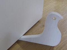 Türstopper aus Holzrest Bastelanleitung zum selber basteln