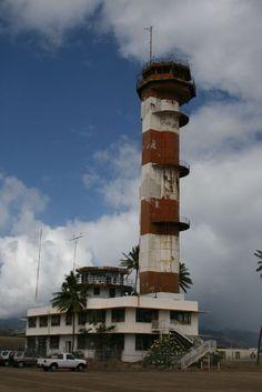 Ford Island Air Control Tower Naval Base Pearl Harbor HI
