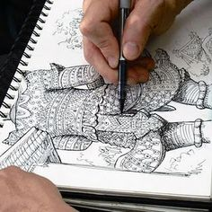 pen and ink skills