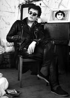 Adam Ant. West Hampstead, London. June 6th 1979. Philip Grey