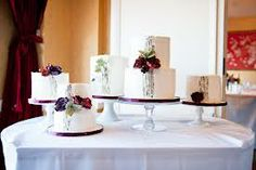 small separate wedding cakes - Google Search