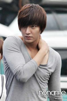 Lee Min Ho. That pose is so sexy. LOL.