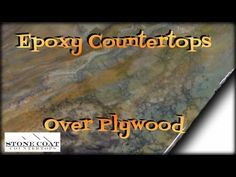 Show hows to pour epoxy over a wood table or bar top area. UltraClear epoxy from BestBarTopEpoxy dot com. UltraClear Epoxy is the. Stone Coat Countertop, Plywood Countertop, Diy Wood Countertops, Countertop Materials, Wood Flooring, Cheap Kitchen Countertops, Floors, Kitchen Cabinets, Keep It Real