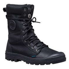 Men's Palladium Tactical Waterproof Zip Boot (US Men's 7 M (Regular))