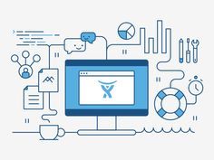 Atlassian (allthethings) illustration