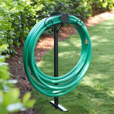 The Sturdy Steel Construction And Powder Coat Finish Provide Durable Storage  For Your Garden Hose.