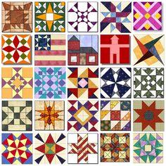 50 State Quilt Block Patterns
