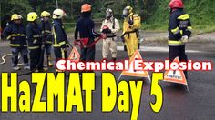What to do during a chemical explosion?