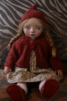 Willa - Jointed cloth doll