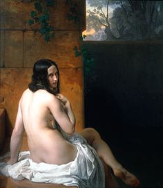 Hayez, Francesco (1791-1882) - 1850 Susanna at her Bath (National Gallery, London, UK)