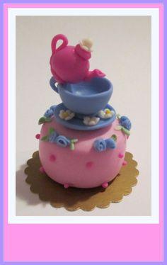 Ivani Grande Miniaturas Brasileiras- Brazilian Miniatures Cakes Teapots