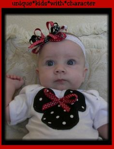 Custom Boutique Baby Girl Disney Vacation Baby by chloesmommy, $32.00