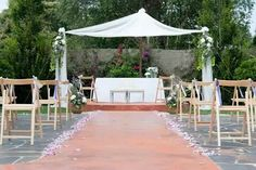 Ceremonia civil rustica Patio, Table Decorations, Outdoor Decor, Home Decor, Civil Ceremony, Wedding, Terrace, Interior Design, Home Interior Design