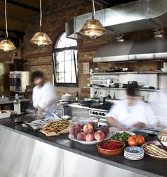 Kaper Design; Restaurant & Hospitality Design Inspiration: Dock Kitchen