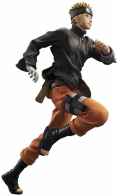 F/S Megahouse Uzumaki Naruto THE LAST NARUTO THE MOVIE G.E.M Series Figure