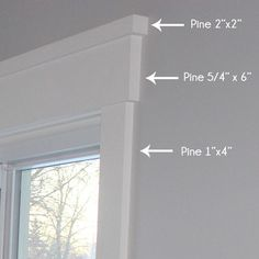 25 Astonishing Eksterior & Interior Window Trim Ideas for Your Dreamed House! - Home Decor Ideas Home Design, Design Ideas, Design Styles, Craftsman Window Trim, Craftsman Bathroom, Window Casing, Door Casing, Window Trims, Moldings And Trim