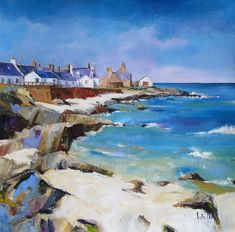 Kate Philp Sandend Signed Limited Edition Print | Scottish Contemporary Art