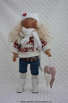 """Человечки ручной работы. Ярмарка Мастеров - ручная работа текстильная кукла """"Ashley"""" продана. Handmade."""